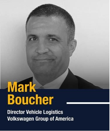 Mark Boucher, Director Vehicle Logistics at Volkswagen