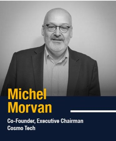 Michel Morvan, CEO at Cosmo Tech