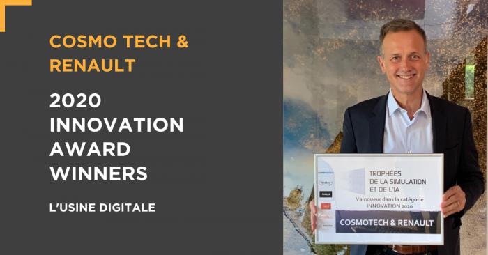 Die Renault-Gruppe & Cosmo Tech: <br/>Preisträger des Simulation & AI Innovation Award
