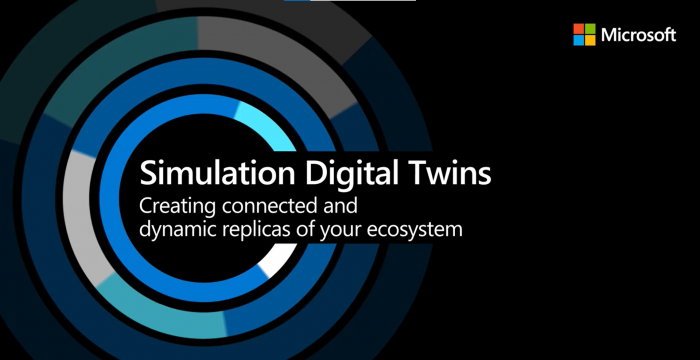 Microsoft Azure and Simulation Digital Twins: Creating connected and dynamic ecosystem replicas