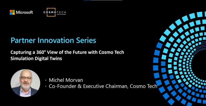 MicrosoftAzurePartner InnovationVideoSeries: Capturing a360°View of the Future with Simulation  Digital Twins